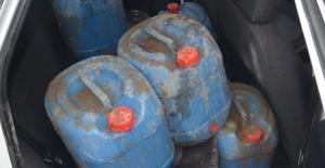Meriç Nehri üzerinden Türkiye'ye soktular! Tam 650 litre