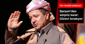 Mesut Barzani Görevi Bırakma Kararı Aldı