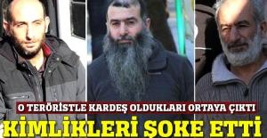 O görüntüleri yayımlayan teröristin 2 ağabeyi tutuklandı