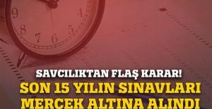 ÖSYM'nin son 15 yıl yaptığı sınavları mercek altına alındı
