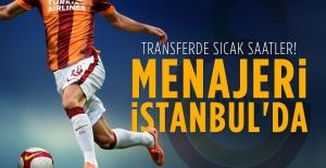 Podolski'nin menajeri İstanbul'a geldi