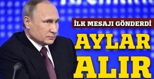 Rusya'dan Trump'a ilk mesaj: Aylar alır!
