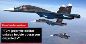 Rusya: Türkiye ile El Bab'da Ortak Hava Operasyonu Düzenledik
