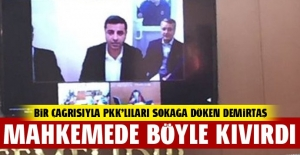 Selahattin Demirtaş #039;PKK#039;ya...