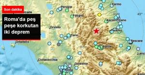 Son Dakika! Roma'da Peş Peşe İki Korkutan Deprem