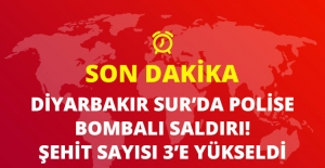 Son Dakika! Sur#039;da Polisleri Taşıyan...