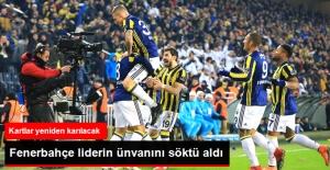Süper Lig'de Fenerbahçe Lider Medipol Başakşehir'i 1-0 Yendi
