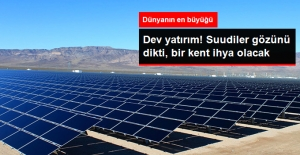 Suudiler'den Konya Güneşine 1.5 Milyar Dolar