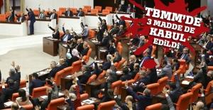 TBMM'de 12., 13. ve 14. madde kabul edildi