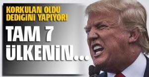 'Trump 7 ülkenin vatandaşlarının ABD'ye girişini sınırlayacak' iddiası