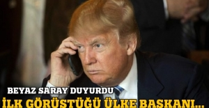 Trump ilk görüşmesini gerçekleştirdi