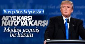 Trump NATO'ya karşı