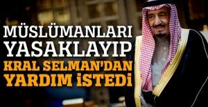 Trump, Suudi Arabistan Kralı Selman'dan yardım istedi