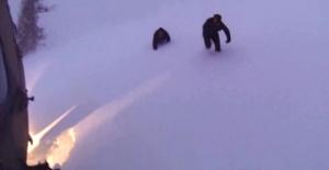 TSK karda mahsur kalan 2 kişiyi kurtardı