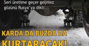 Türk girişimci, yoğun kar ve buzun neden olduğu kazalara karşı tır, kamyon, minibüs ve otobüslerde kullanılabilen otomatik zincir sistemi geliştirdi.