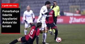 Türkiye Kupası'nda Fenerbahçe, Gençlerbirliği ile 2-2 Berabere Kaldı