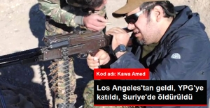 YPG'ye Katılan Amerika'lı Rakka'da Öldürüldü