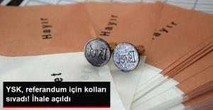 YSK Olası Referandum İçin Hazırlıklara Başladı