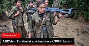 ABD'den PKK'ya 'Düzenli Ordu' İçin 38 Milyon Dolar
