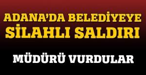 Adana Büyükşehir Belediyesi'nde silah sesleri, müdürü vurdular