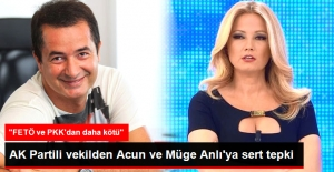 AK Partili Aydın Ünal#039;dan Acun...