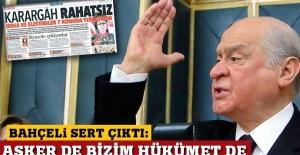 Bahçeli'den Hürriyet'in manşetine tepki