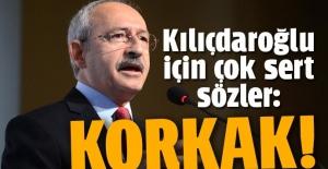 Bakan Mehmet Müezzinoğlu: Korkak olan sensin!