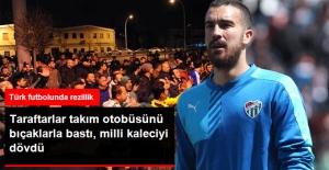 Bıçaklarla Futbolculara Saldırdı, Harun Tekin'i Dövdü
