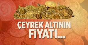 Çeyrek altın  fiyatı