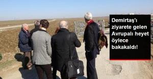 Demirtaş'ı Ziyarete Gelen Avrupalı Heyete