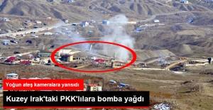 Derecik'ten Kuzey Irak'taki PKK Hedeflerine Bomba Yağdı