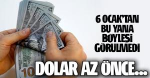 Dolar/TL 3,60'ın altını gördü