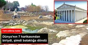 Dünya'nın 7 Harikasından Artemis Tapınağı Bataklığa Döndü