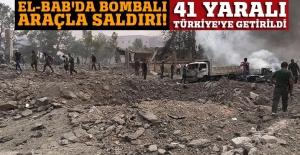 El-Bab'da bombalı araçla saldırı: Çok sayıda ölü var
