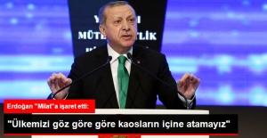 Erdoğan: 16 Nisan'ın Güçlü Bir Türkiye İçin Milat Olacağına İnanıyorum