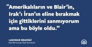 Eski BM Suriye Özel Temsilcisi Brahimi'den batıya eleştiri