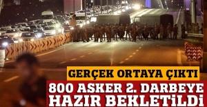 FETÖ iddianamesine göre; 800 kripto asker, 2. darbe için bekletildi