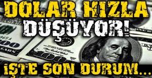 FLAŞ Dolar hızla düşüyor! İŞTE SON DURUM…