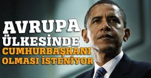Fransızlar cumhurbaşkanlığı için Barack Obama'yı istiyor!