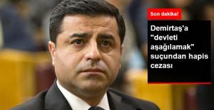 HDP Lideri Selahattin Demirtaş'a Hapis Cezası