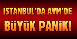 İstanbul Maltepe'de AVM'de büyük panik