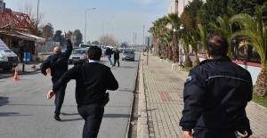 İzmir adliyesinde panik anları