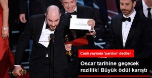 Oscar'da Büyük Skandal! En İyi Film Ödülü Yanlış Açıklandı