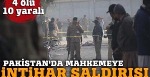 Pakistan'da yerel mahkemeye intihar saldırısı: 4 ölü, 10 yaralı