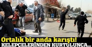 Polisin elinden kaçan cezaevi firarisi adliyeyi birbirine kattı