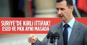 PYD/PKK ile Esad'dan kirli ittifak