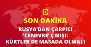 Rusya: Cenevre Görüşmelerine Kürtler de Katılmalı