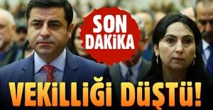 Son dakika: Figen Yüksekdağ'ın milletvekilliği düşürüldü