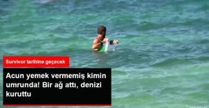Survivor'da Adem Yine Adadaki Balıkları Kuruttu