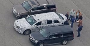 Trump'ın yeni limuzini casuslara yakalandı
